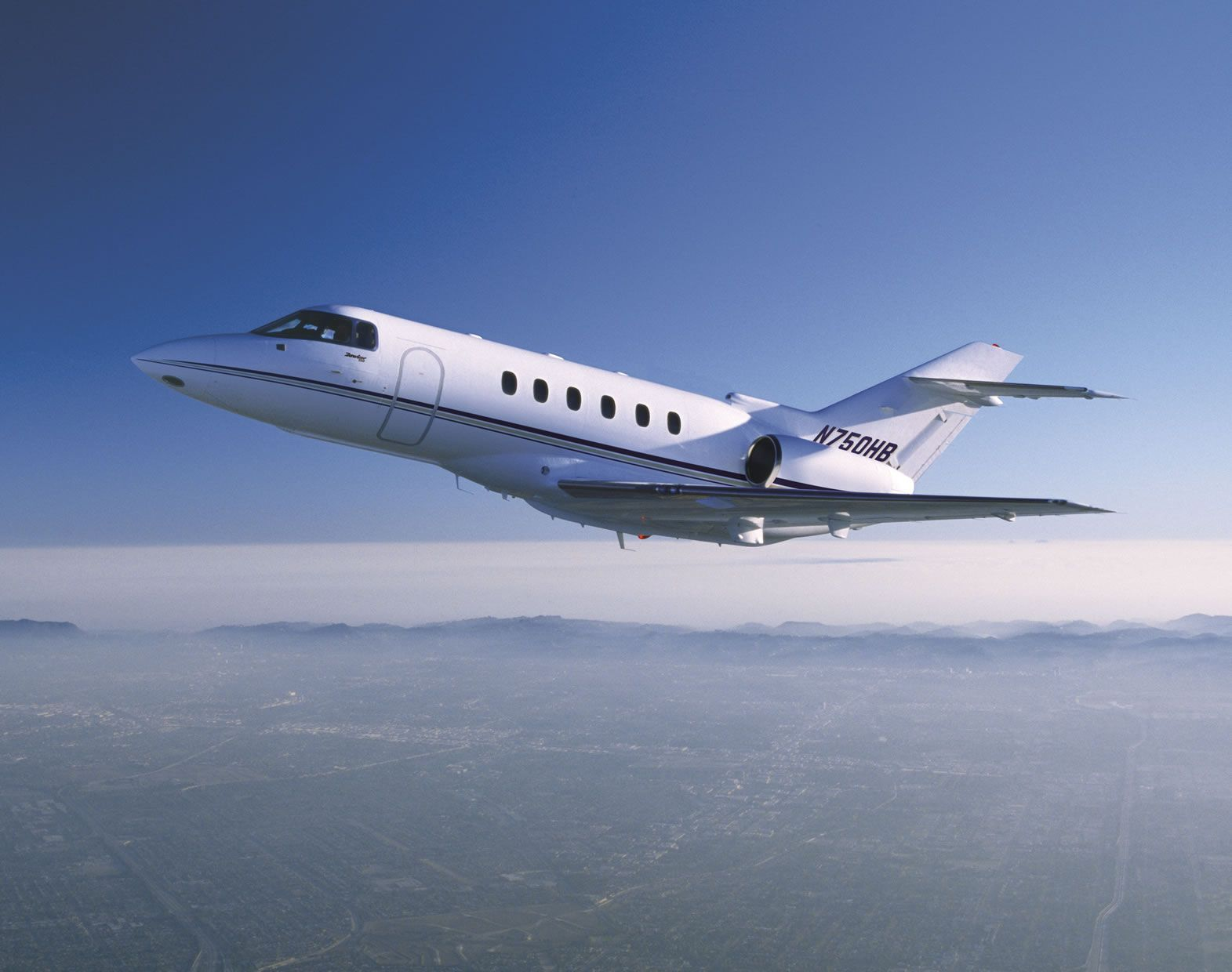 The Hawker 750750XP Private Jet Is A Midsized Executive Jet Produced By The