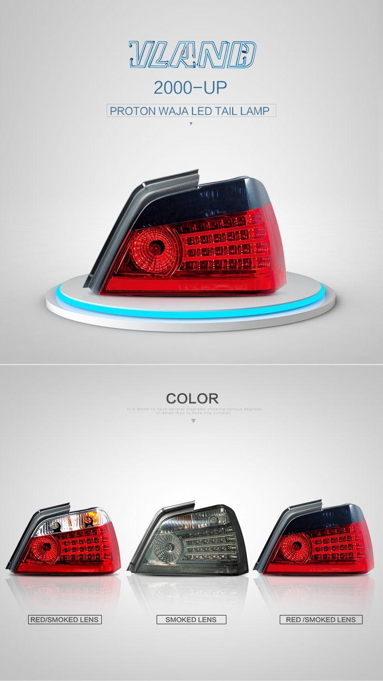 VLAND PROTON WAJA 2000-UP LED Tail Light (ISO9001&TS16949) LED tail
