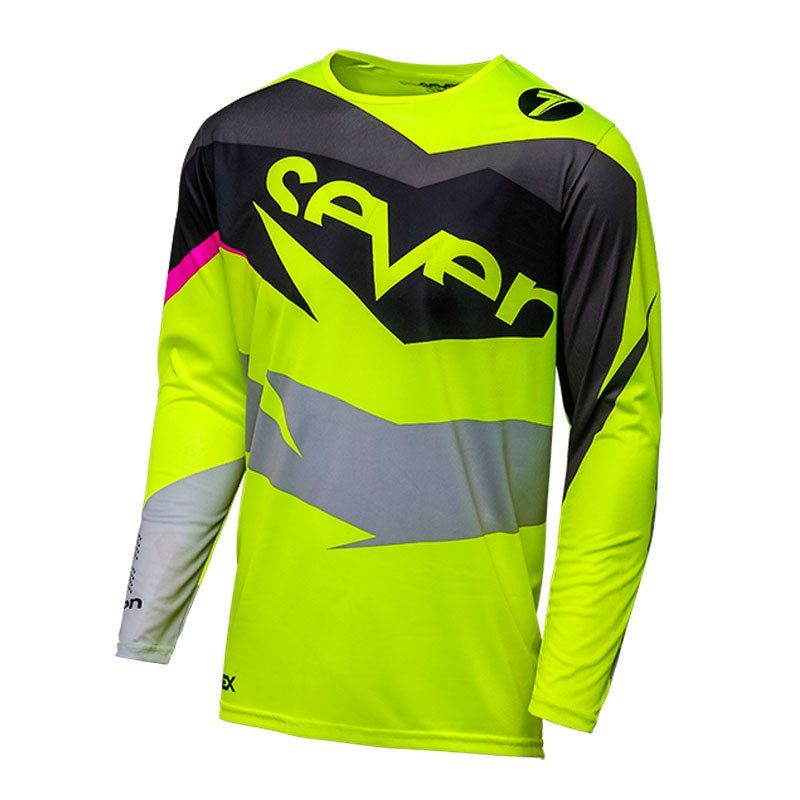 2018 Men s Downhill Mtb Shirt Seven Motocross Jersey Camiseta Ropa Fox  Mountain Bike Dh Shirt Mx Motorcycle Clothing 7a8392818