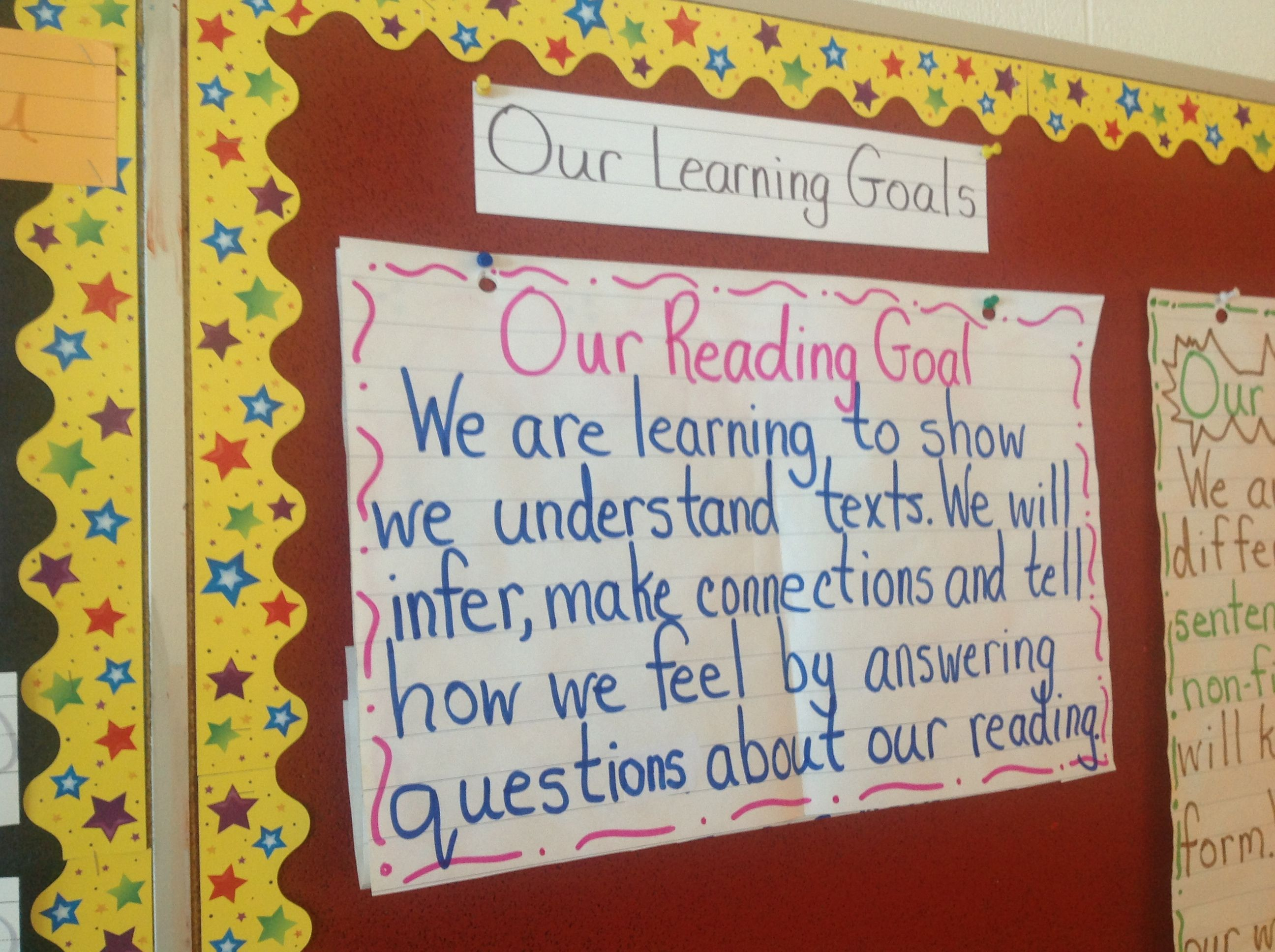 We Are Now Learning To Answer Questions About Reading We Have Started Our Success Criteria Learning Goals Visible Learning Teaching Literacy Reading comprehension objectives for