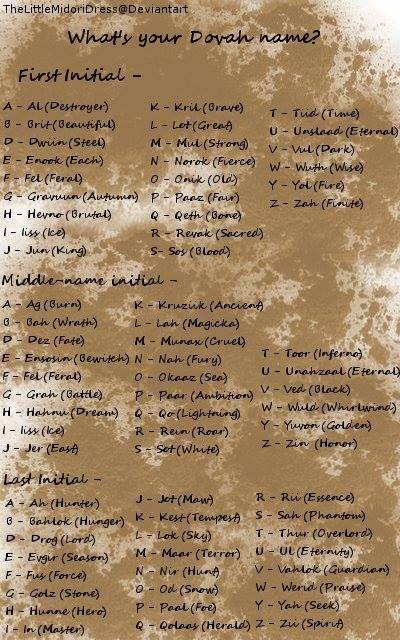 What's Your Dovah Name? #skyrim #elderscrolls Beautiful cruel