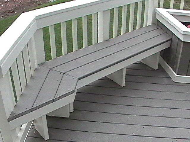 Best 20 Inspiring Wood Deck Design Ideas Deck Seating 400 x 300
