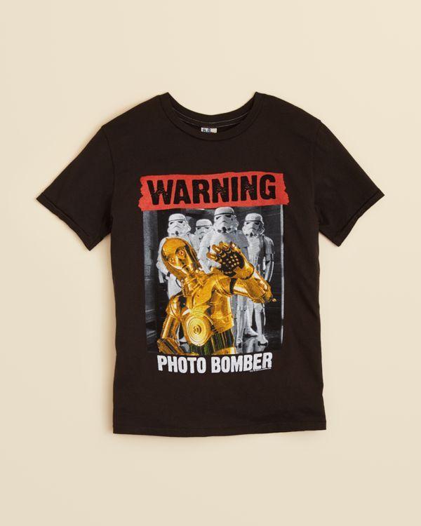 Junkfood Boys' Graphic Print Photo Bomber Tee - Sizes Xs-xl