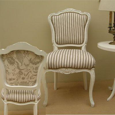 Silla provenzal sillas pinterest sillas shabby y for Sillas modernas vintage