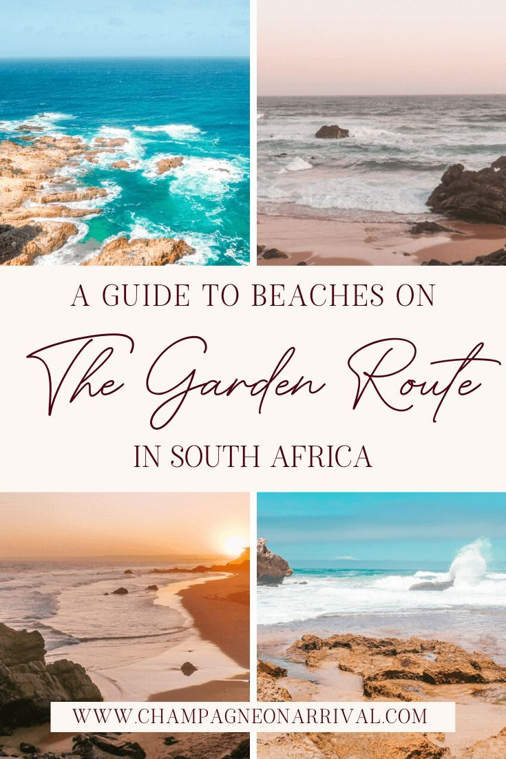 A Guide to the Best Beaches on the Garden Route in South Africa -   18 travel destinations Africa adventure ideas