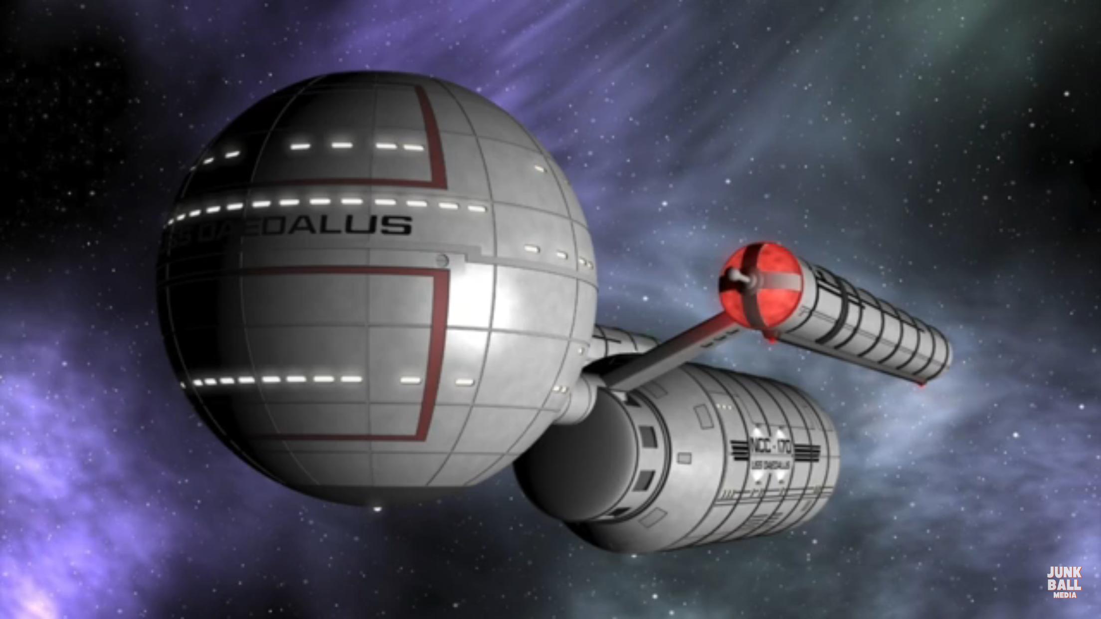 Uss enterprise ncc 1701 d galaxy class saucer separation r flickr - Battle Damaged Model Of U S S Enterprise Ncc 1701 C From St Tng Episode Yesterday S Enterprise Star Trek U S S Enterprise Ncc 1701 C Pinterest