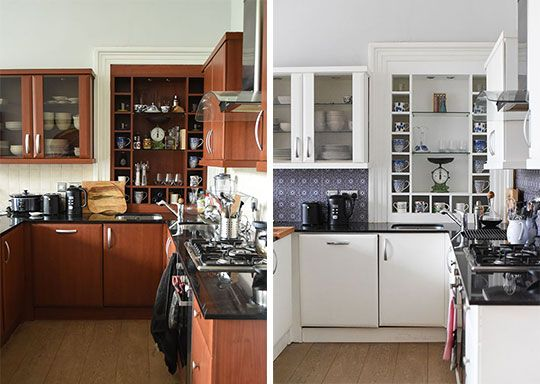 Home Tour Kitchen Makeover On A Budget Thankfifi Uk Fashion