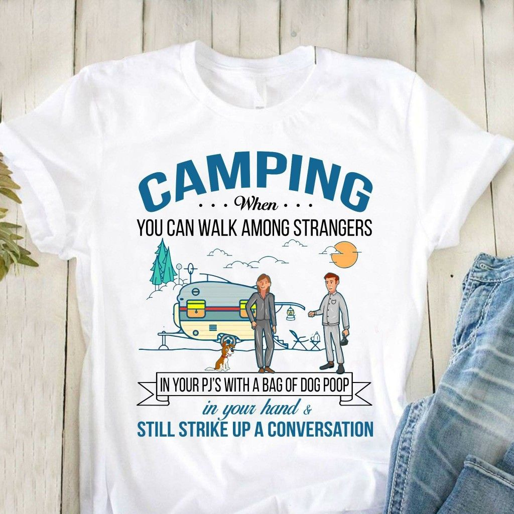 Image result for camping sign pajamas bag of poop