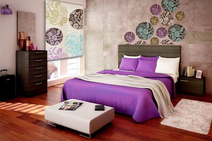 Resultado de imagen de dormitorio original ideas dormitorio pinterest ideas dormitorios - Cortinas originales para dormitorio ...