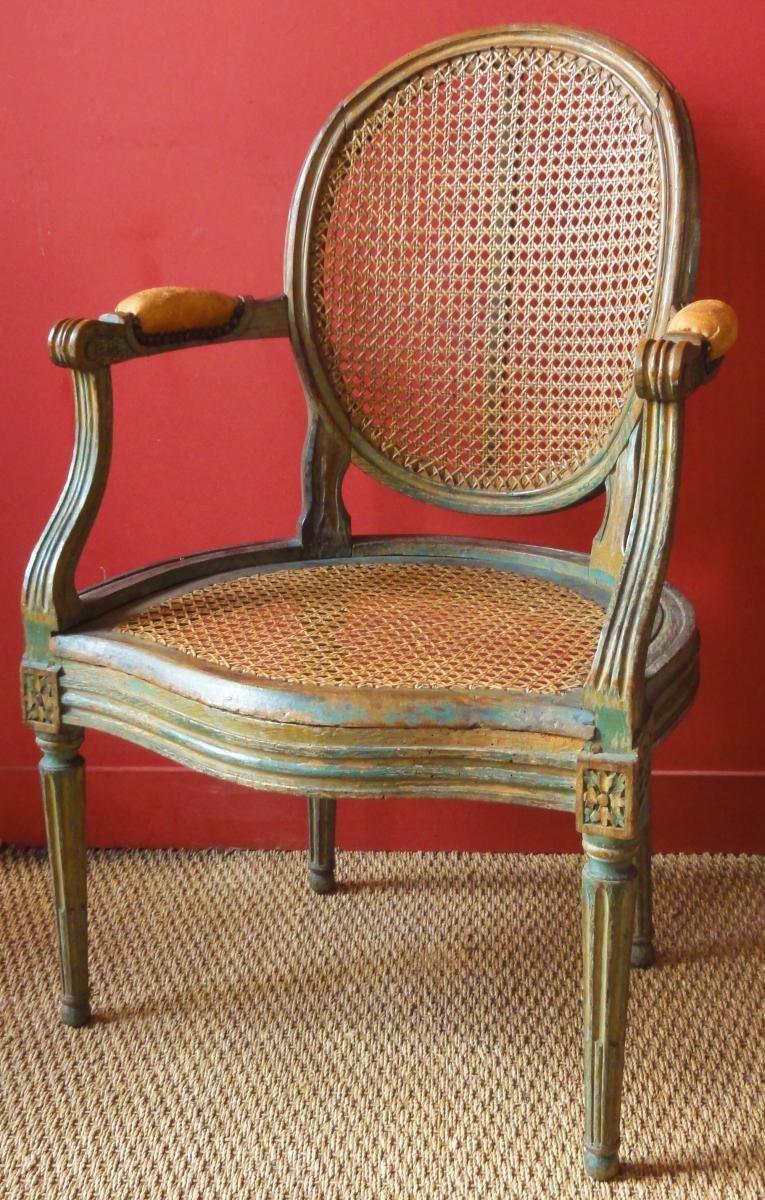 Fauteuil De Bureau Epoque Louis Xvi Par Jullienne Clery Antiques Proantic Fauteuil Bureau Meuble De Style Mobilier De Salon