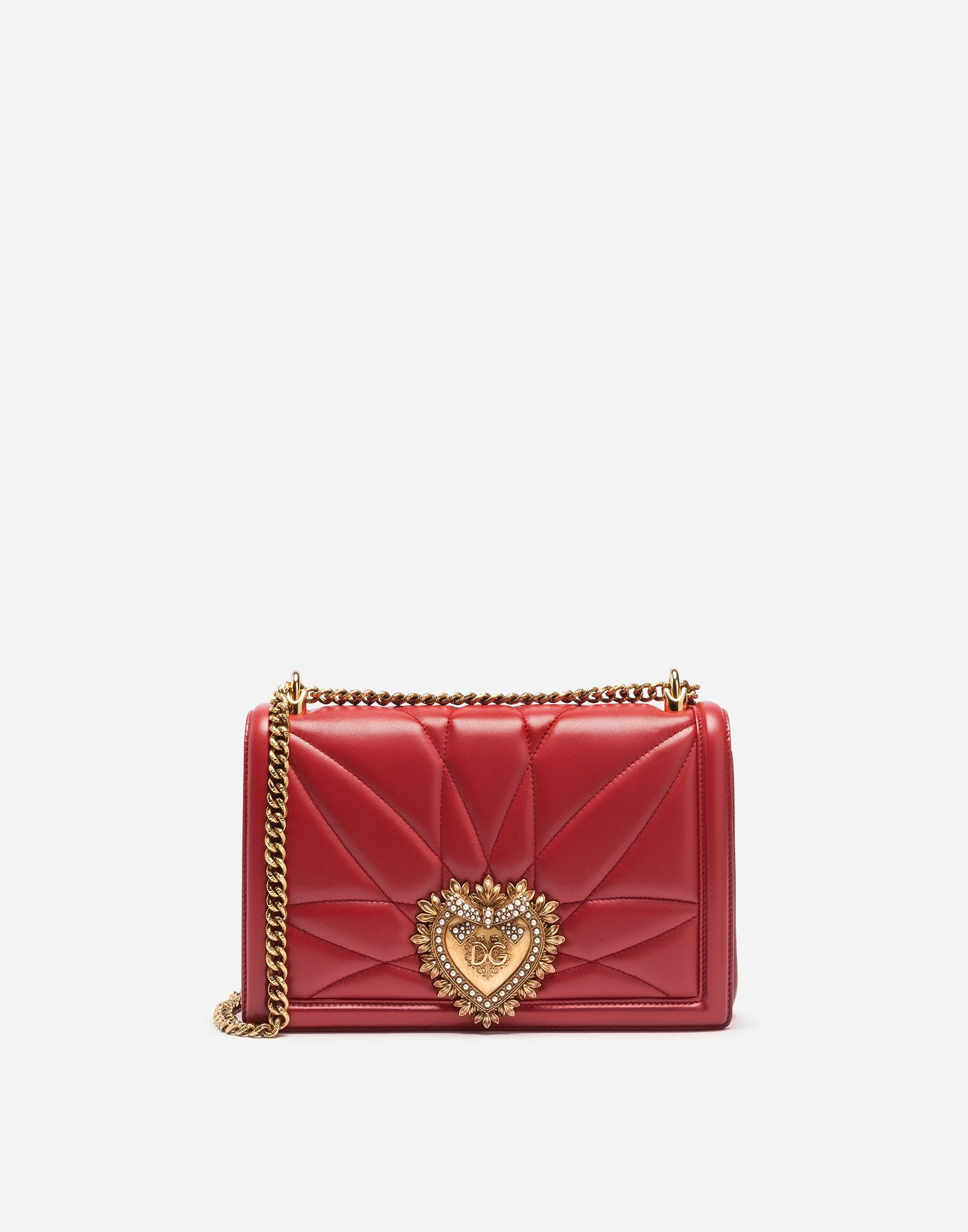0396517e1ca Straight off the runway, the Devotion Bag is the new object of desire. Born  from the love of craftsmanship and attention to detail, the bag is  embellished ...