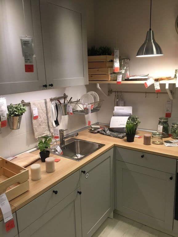 Cocina Knoxhult By Ikea In 2020 Wohnung Kuche Ikea Kuche Kuche Einrichten