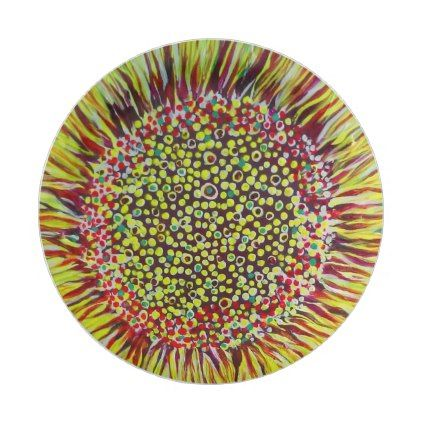 Super Bright Sunflower Designer Paper Plate - paper gifts presents gift idea customize  sc 1 st  Pinterest & Super Bright Sunflower Designer Paper Plate - paper gifts presents ...