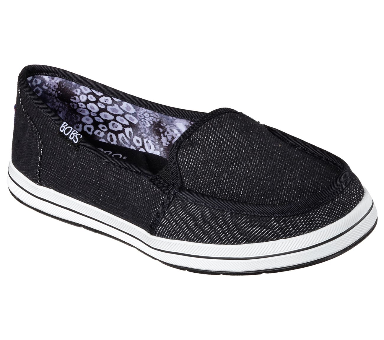 92e6975d3f58b Get+some+comfy+jeans+for+your+feet+with+the+SKECHERS+Bobs+Flexy+-+Back+ Spring+shoe.