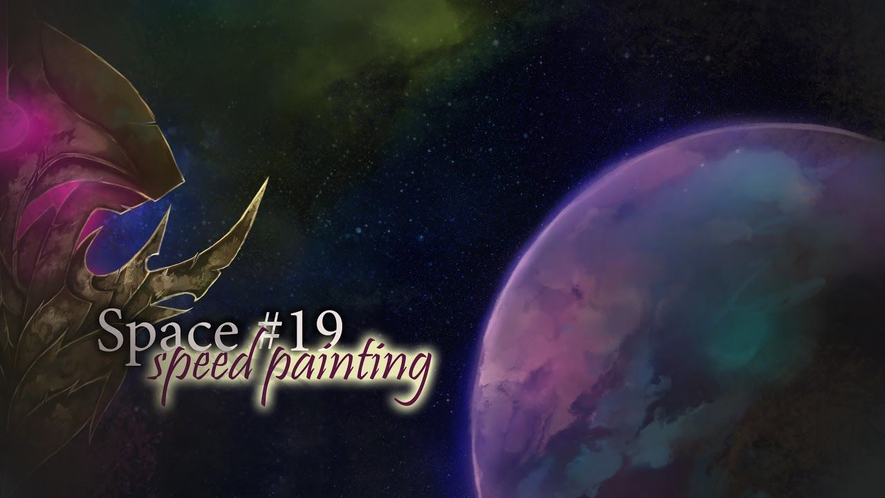 Space #19 ► speedpainting