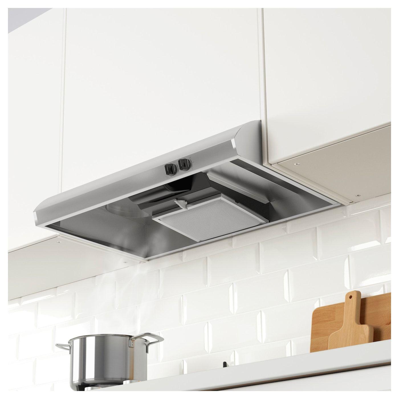 IKEA - LUFTIG Exhaust fan Stainless steel  Exhaust fan kitchen