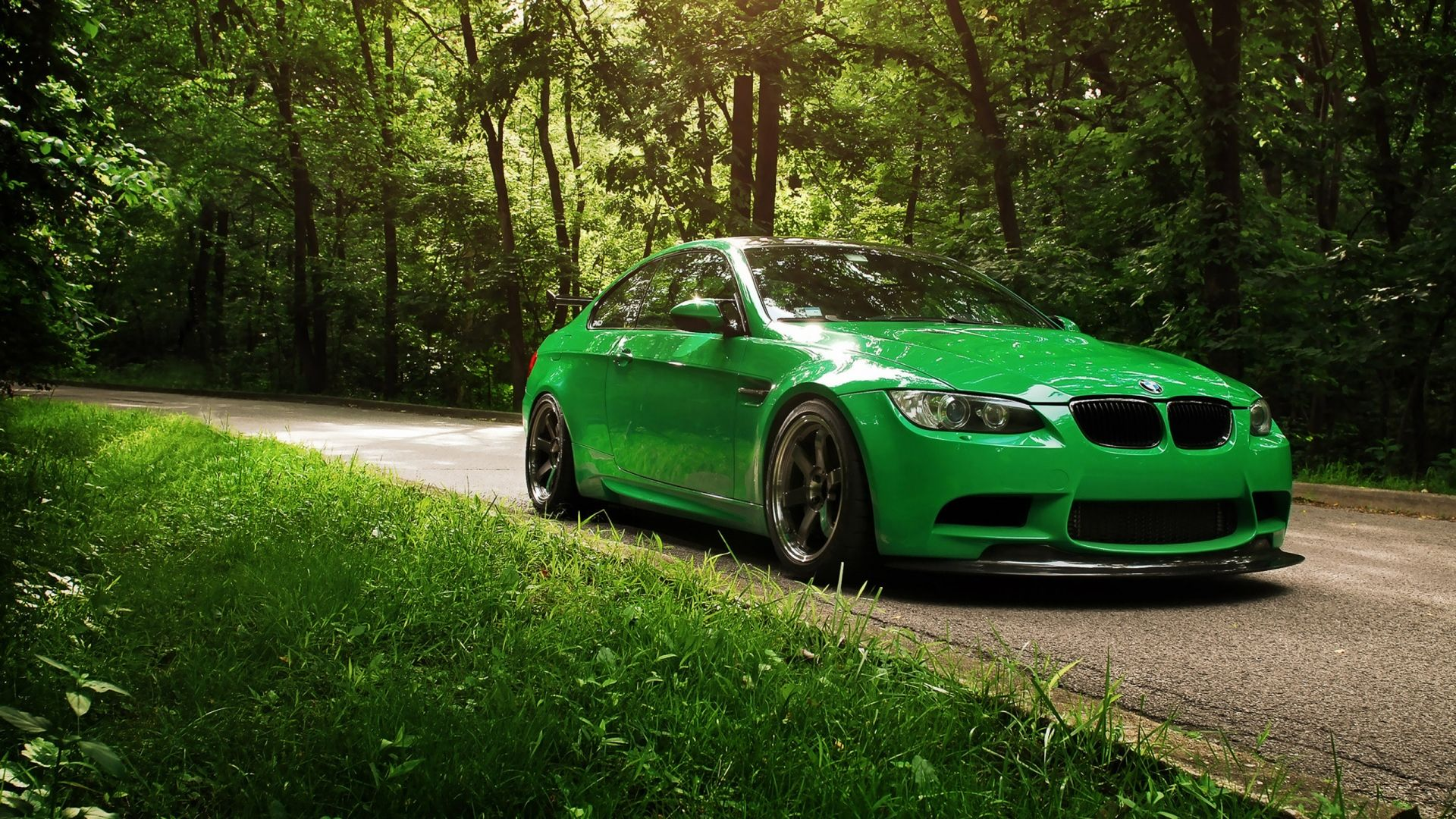 Go Green Bmw 1080p Hd Wallpaper Nature Bmw Car Wallpapers