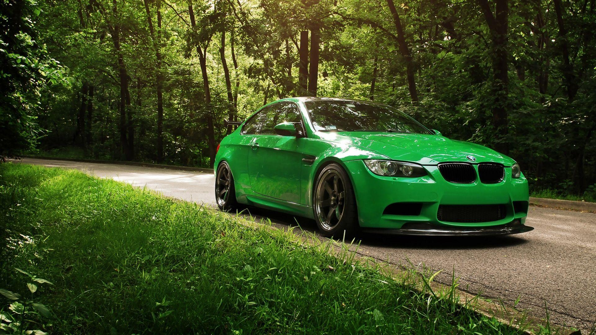 Hd wallpaper nature green - Go Green Bmw 1080p Hd Wallpaper Nature