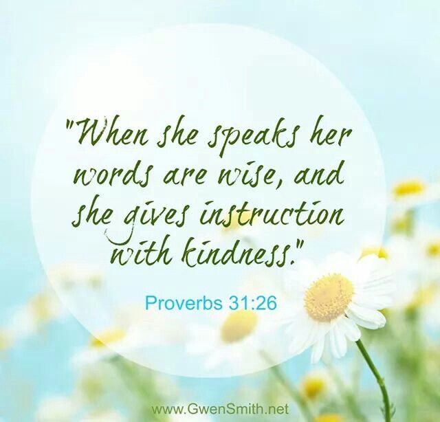 Proverbs 31:26