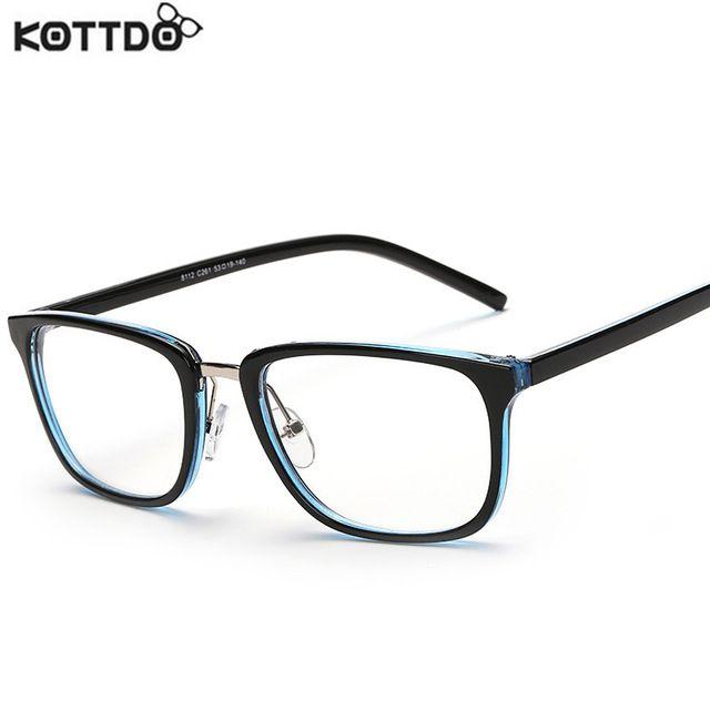 420ffe63bdc KOTTDO 2017 Vintage Square Eyeglasses Men Women glasses Optical For Myopia  Retro Eye Glasses Frame oculos de grau TY8112