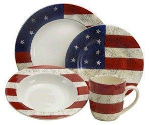 Americana Dinnerware | ... Sakura Colonial Microwave Safe Dinnerware by Warren Kimble  sc 1 st  Pinterest & Americana Dinnerware | ... Sakura Colonial Microwave Safe Dinnerware ...