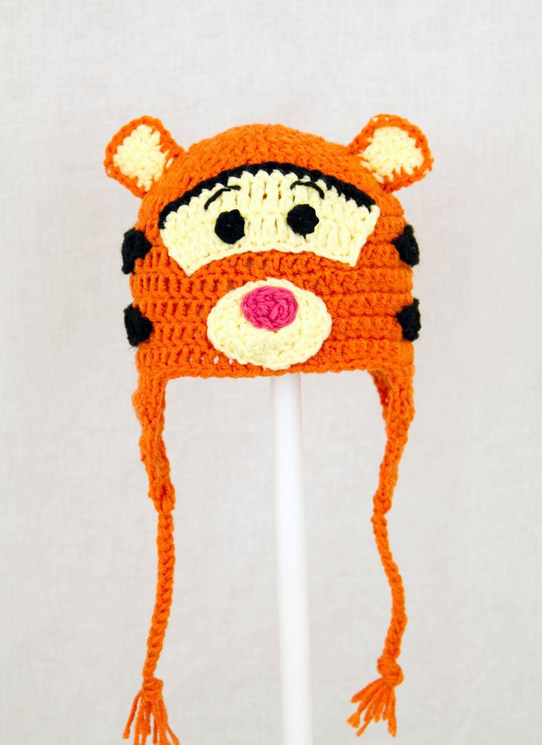 Tigger Earflap Hat from Winnie the Pooh, send size choice baby ...