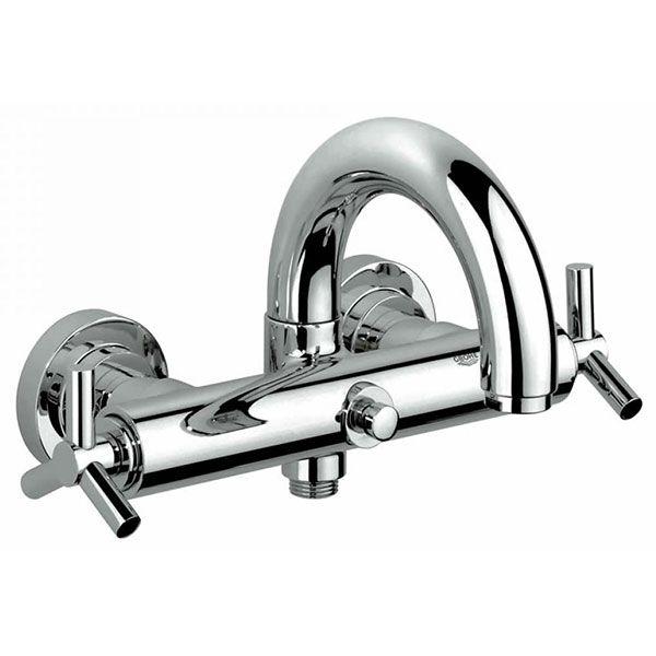 Grohe Spa Atrio Ypsilon Wall Mounted Bath Shower Mixer Tap ...