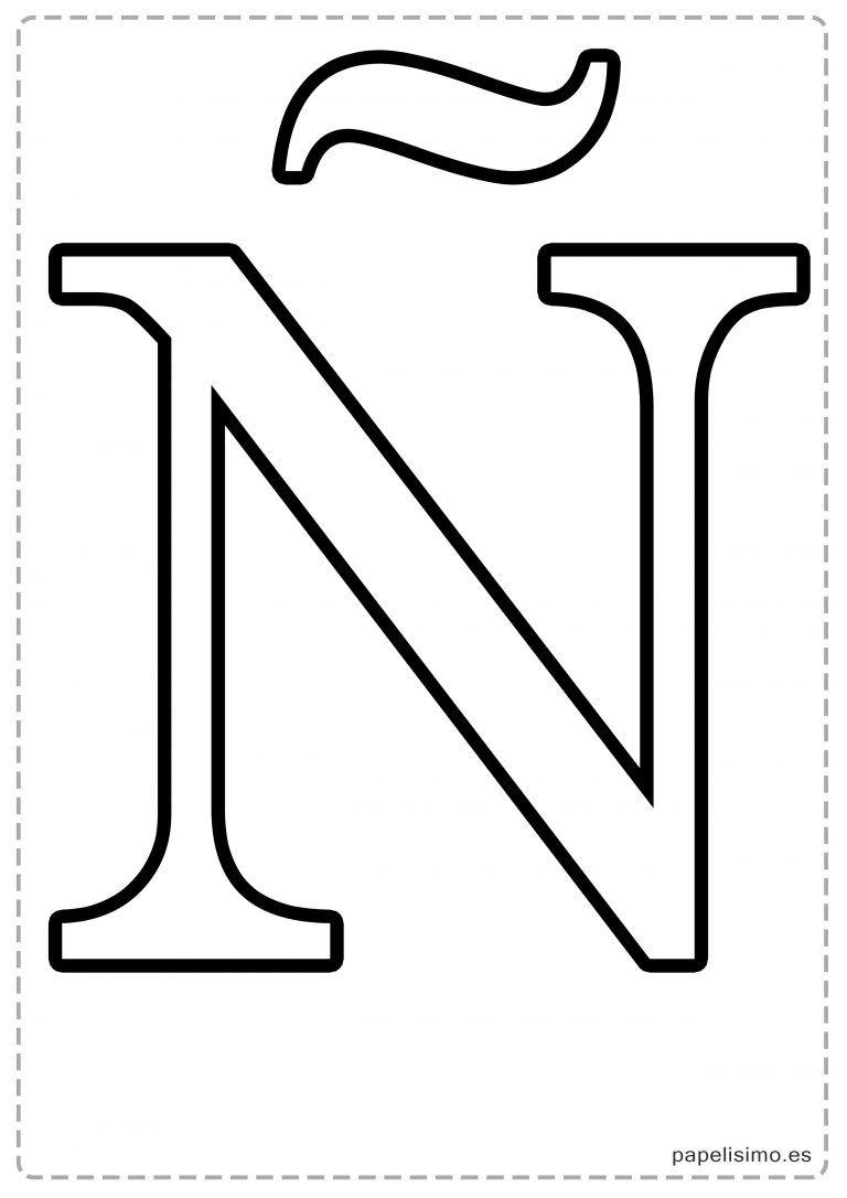 Abecedario letras grandes imprimir may sculas letras for Plantillas letras grandes