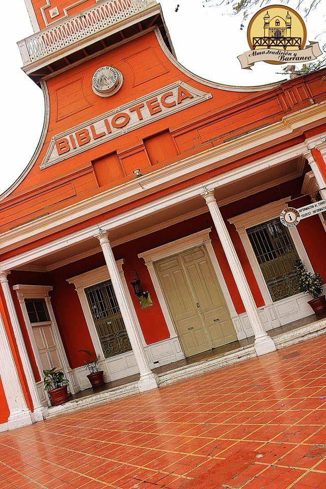 Bliblioteca Municipal del Distrito del Barranco