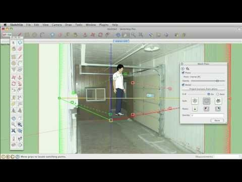 Sketchup Tips And Tricks Using The Matched Photo Feature