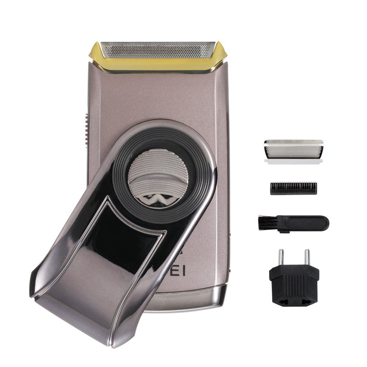 Men ShaverBienna Rechargeable Electric Wet and Dry Steel Cordless