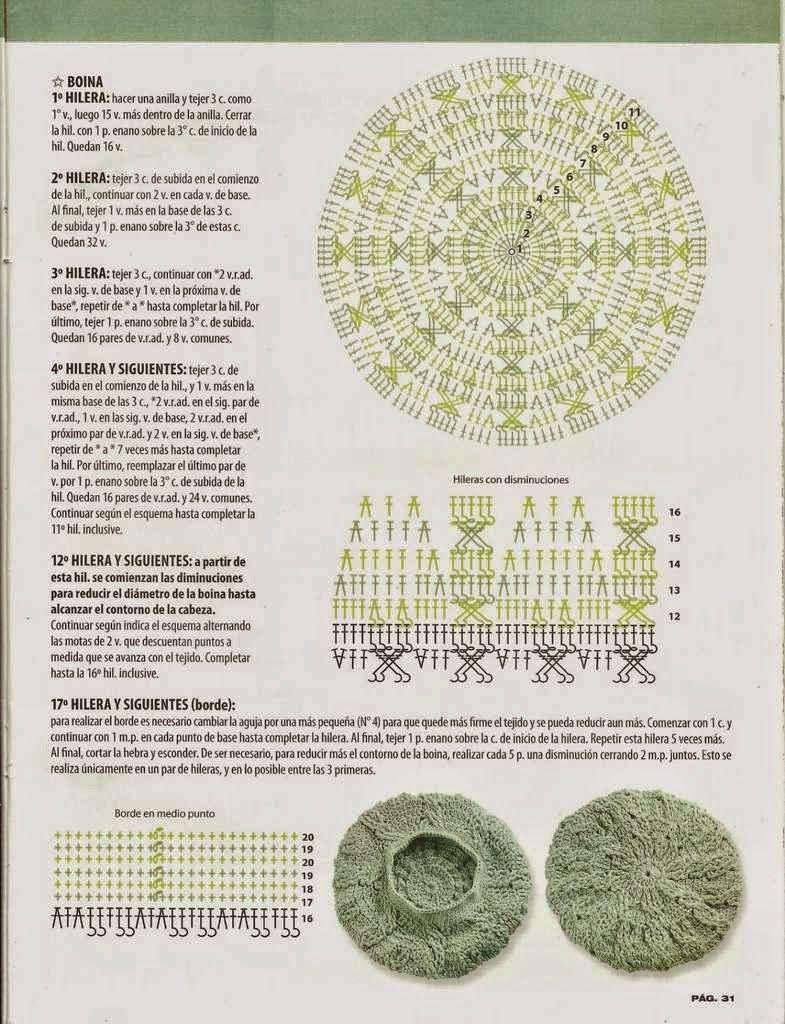 523 Gorro a Crochet o Ganchillo | Gorritos crochet | Pinterest ...