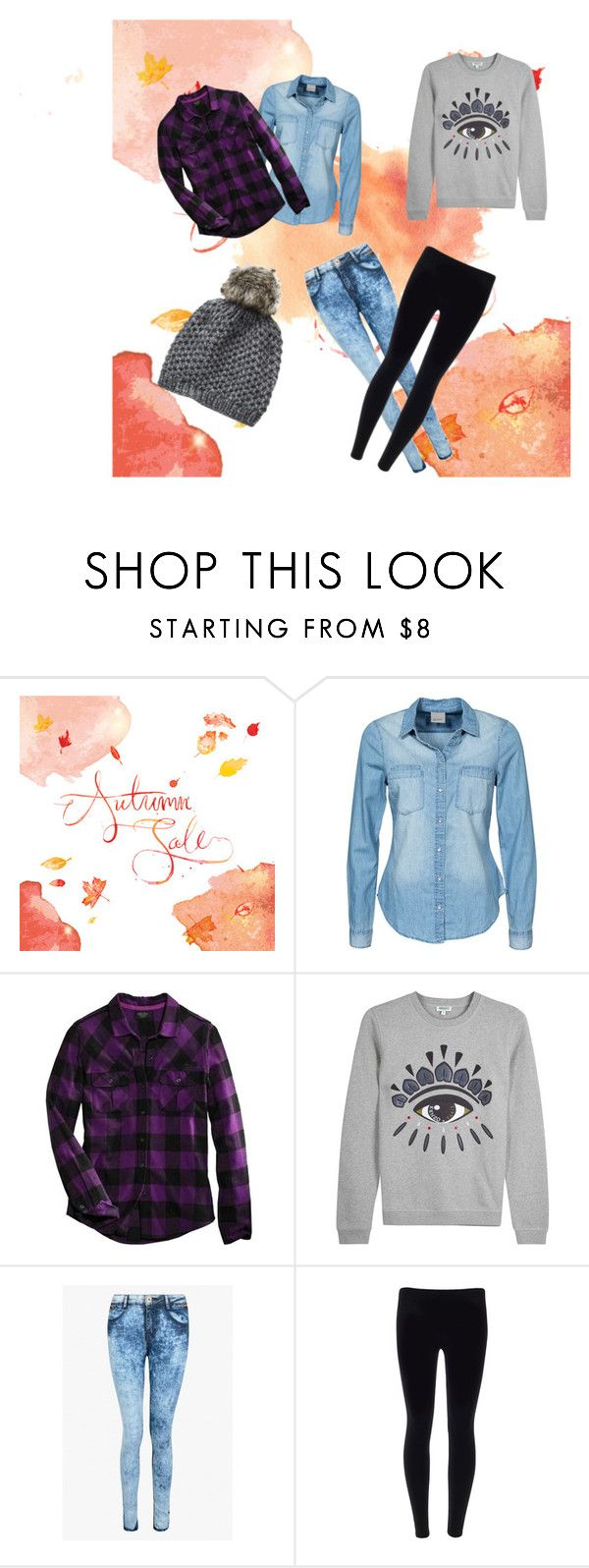 """""""Casual for fall"""" by loppy231 ❤ liked on Polyvore featuring Vero Moda, Harley-Davidson, Kenzo, Vincent Pradier, outfit, winter2015 and fall2015"""