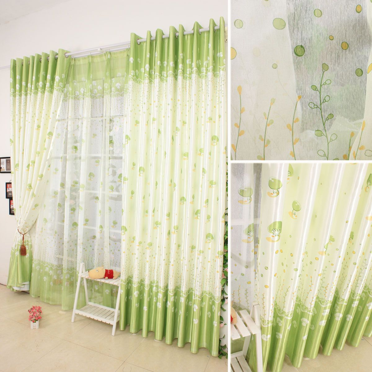 green curtains for bedroom green curtains bedroom modern curtain styles ideas rooms curtain design ideas - Curtain Design Ideas