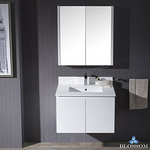 Monaco Collection 000 24 01 WH MC 24 Wall Mount Sink