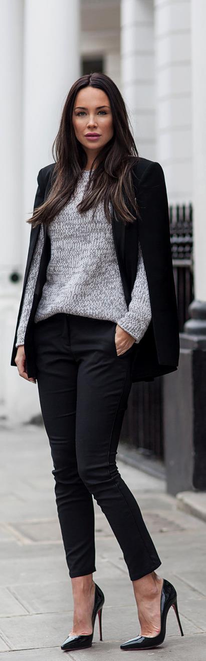 Semi Casual London Style / Fashion By Johanna Olsson