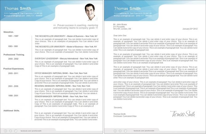 Resume   Premium Line Of Resume  Cover Letter Templates