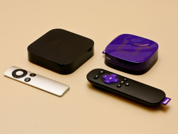 Image result for Apple TV Vs the Roku LT