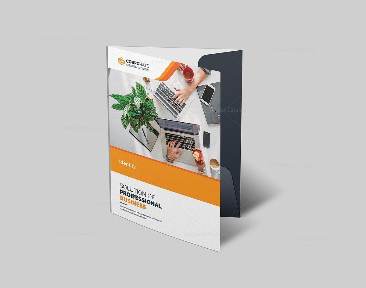 Corporate Folder Template Presentation Folder Corporate Folder Folder Templates