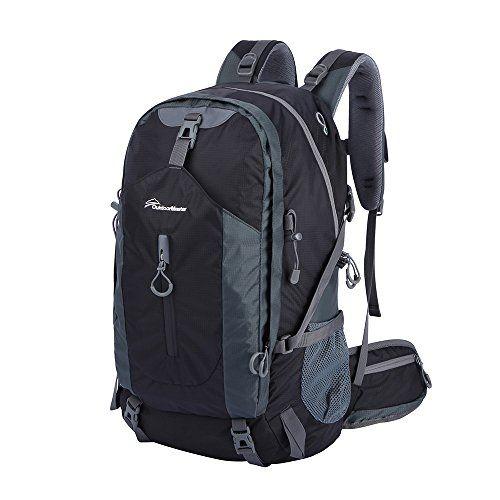 OutdoorMaster Hiking Backpack 50L Weekend Pack w Waterproof Rain ...
