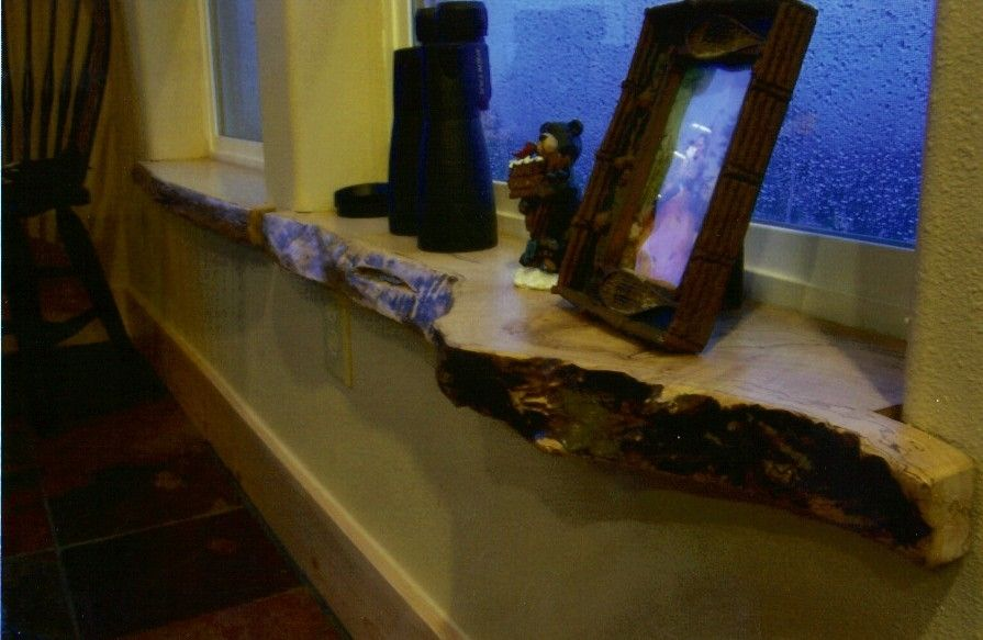 Pallet Shutters Interior Window