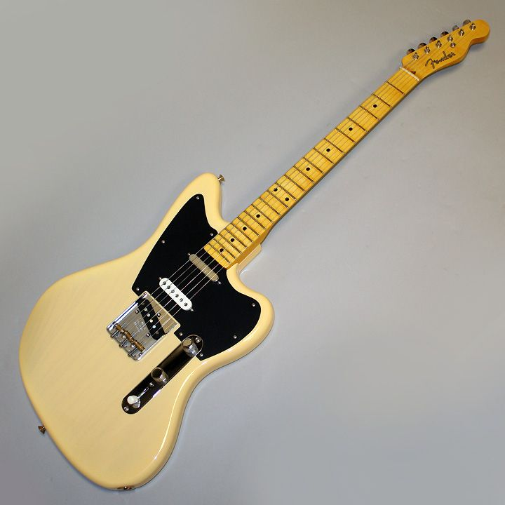 Cool jazzmaster telecaster mix. This is a 3 pickup version. pretty ...