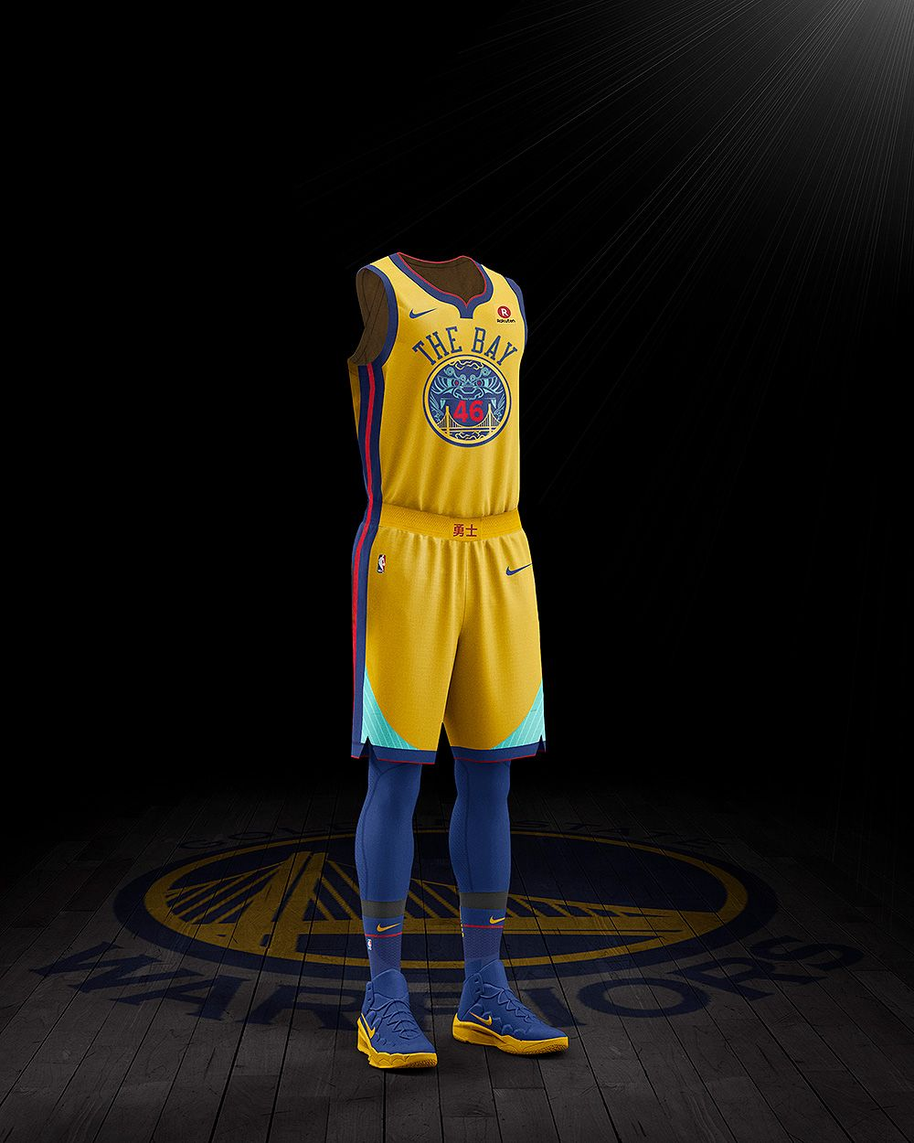 339e770b11bc Warriors to Wear Chinese Heritage Uniforms for Select Games During 2017-18  Season