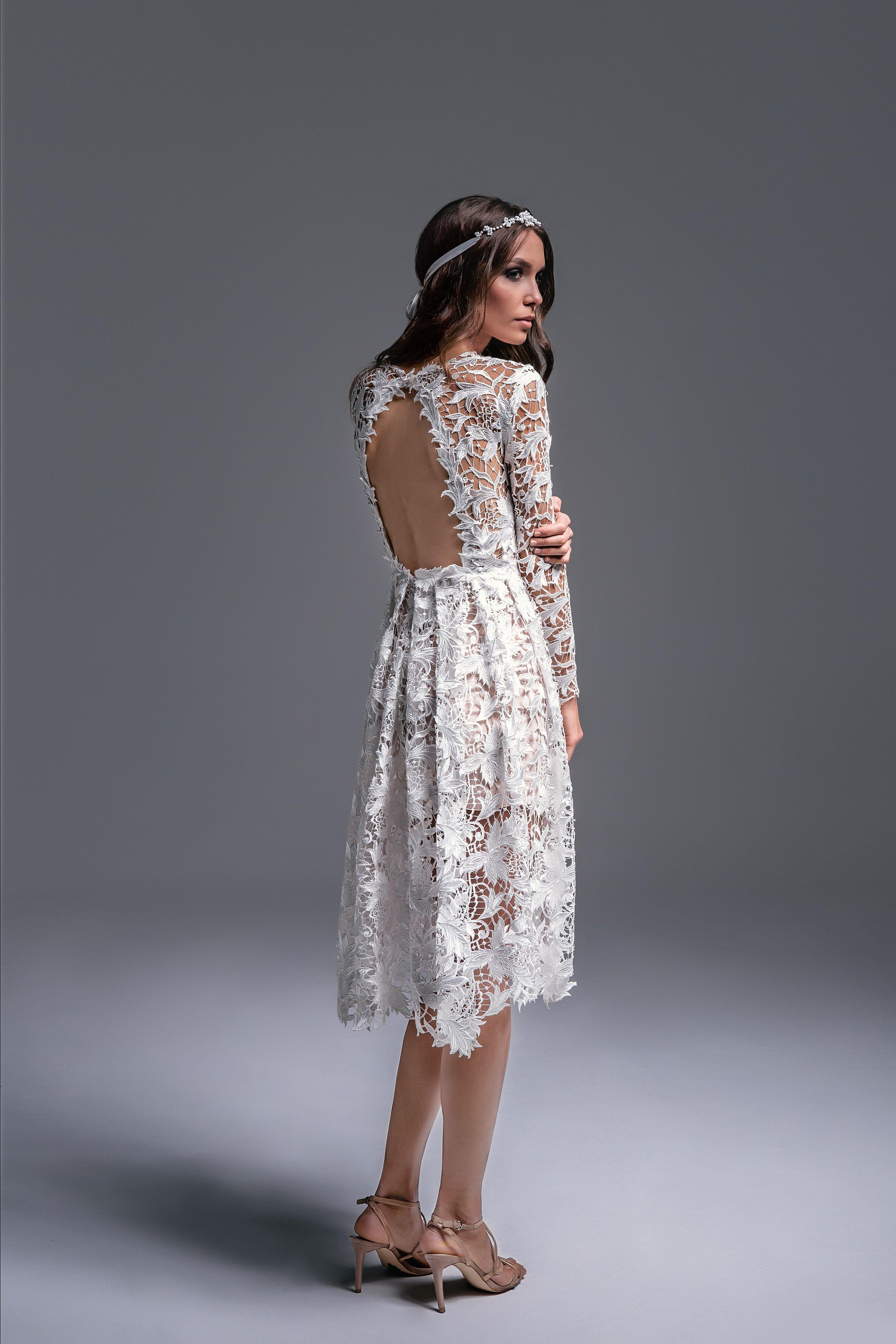 Bruna To Suknia W Stylu Boho Idealna Na Slub Cywilny Przyjecie Weselne W Fashion Lace Skirt Lace