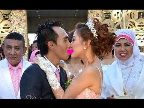Ini Ciuman Kemesraan dalam Pernikahan Bella Shofie ,bella