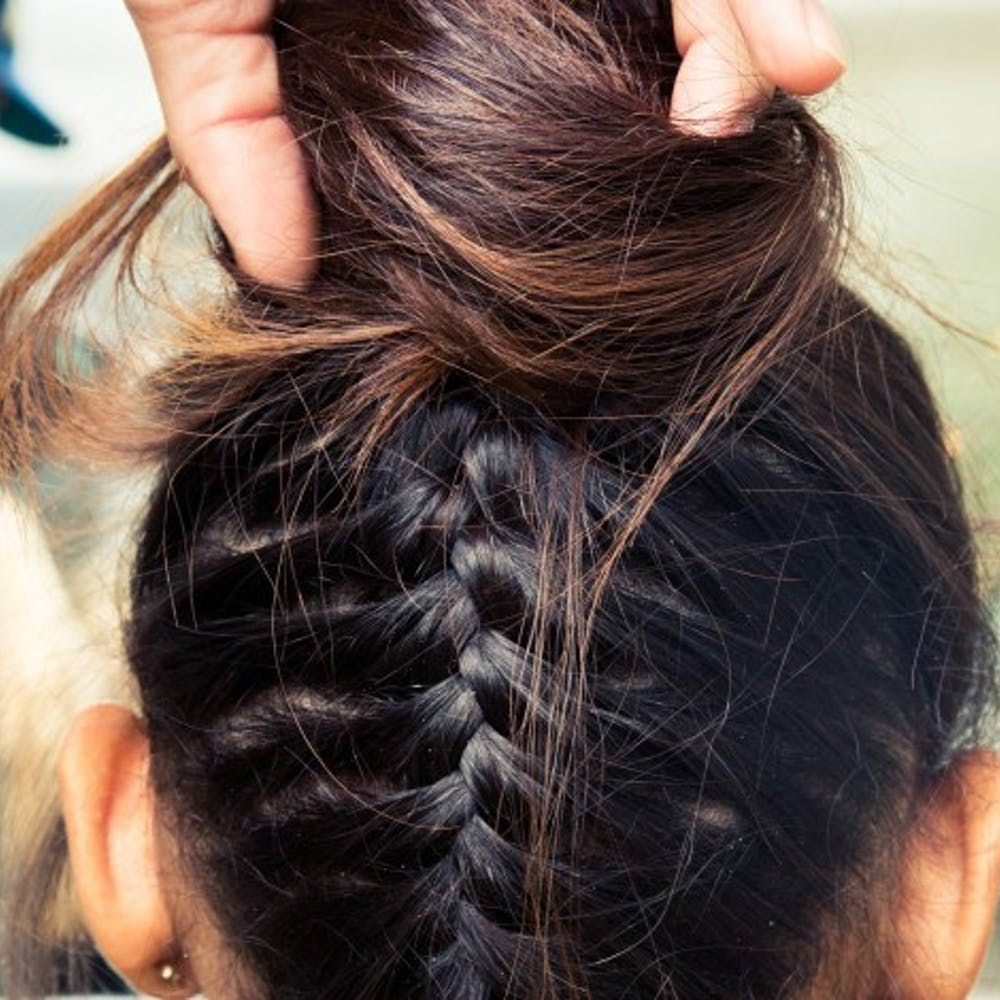 Step hairstyles designed for secondday hair hairstyle easy