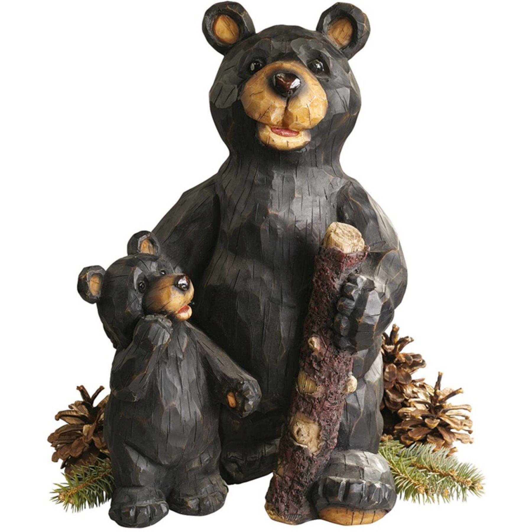 Design Toscano Black Forest Bear Pair Sculpture   JE228500