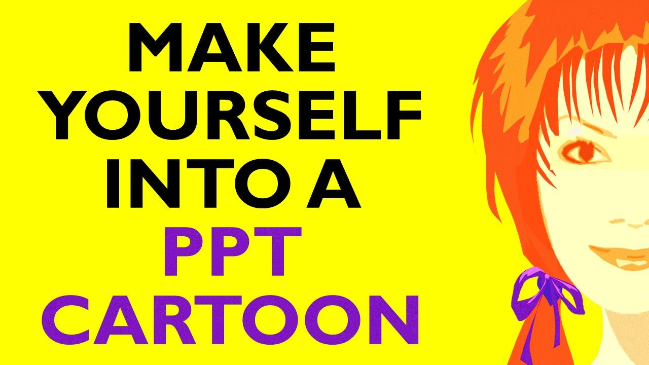 How to Make a Cartoon of Yourself in PowerPoint - Advanced