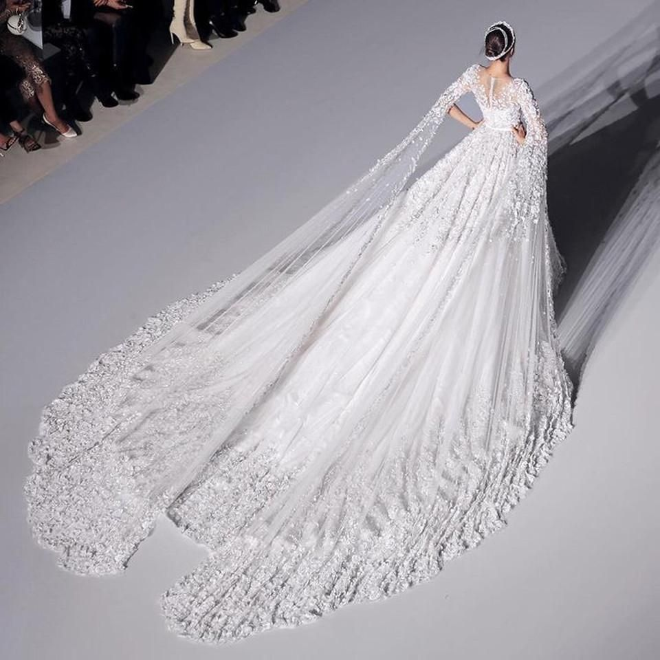 3m Long Cathedral Royal Train Wedding Dress Wedding Dress Train Wedding Dresses Couture Wedding