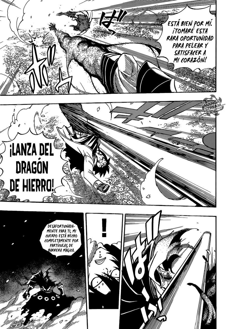 Gajeel vs Bradman - Fairy Tail Manga 486